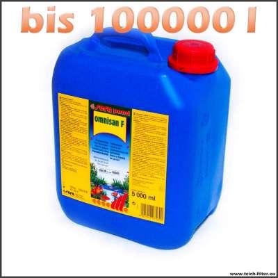 5l Sera Omnisan F bis 100000l Teichwasser gegen Verpilzungen und Parasiten bei Fischen