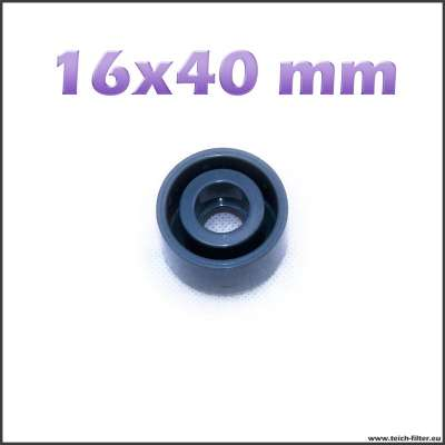 16 x 40 mm Reduzierung für PVC Fittings