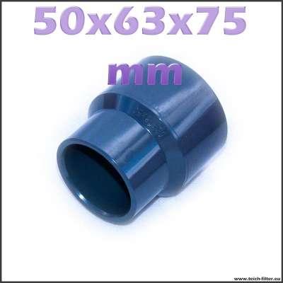 50 x 63 x 75 mm Reduziermuffe