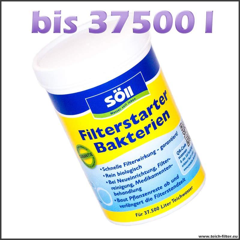 250 g filterbakterien bis 37500 l teich teichfilter. Black Bedroom Furniture Sets. Home Design Ideas