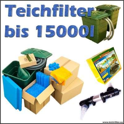 Teichfilter 15000 Liter Premium