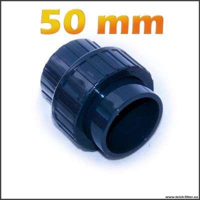 50mm Verschraubung für Teichwasser
