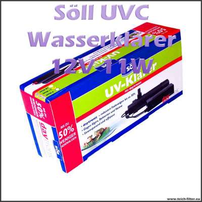 11 Watt 12 Volt UVC Wasserklärer Söll
