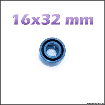 16 x 32 mm Reduzierung aus Kunststoff