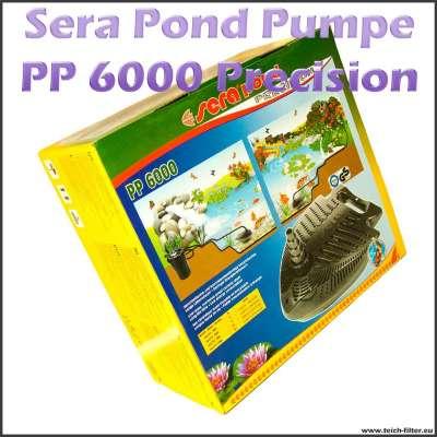 PP 6000 Precision Teichpumpe für Filter von Sera