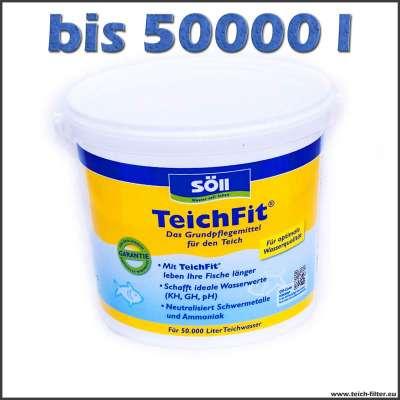 5 kg Teichfit bis 50000 l Wasser für stabilen pH-Wert