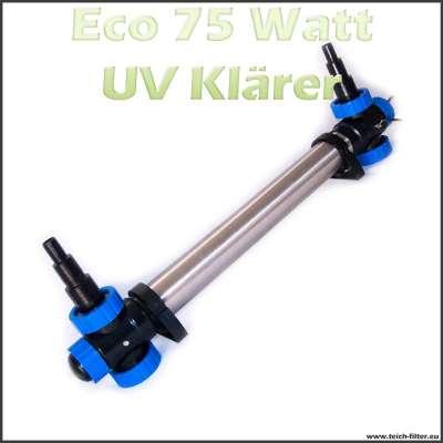 75 Watt UV Klärer Eco für Teichfilter bis 150000 Liter Wasser