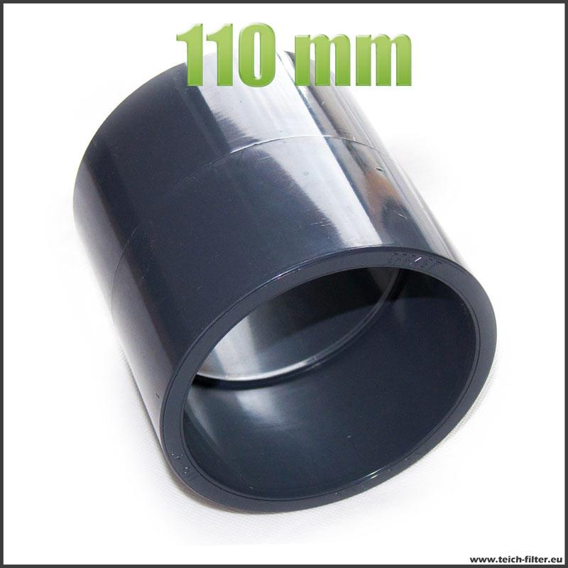 Bekannt 110 mm Muffe für PVC, HT und KG Rohre als Verbindung | Teichfilter OT14