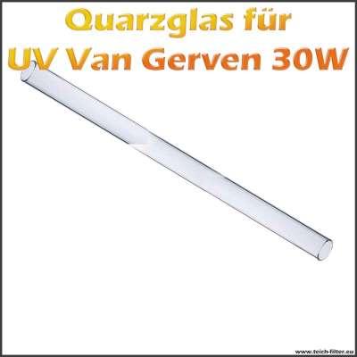 Quarzglasrohr für 30W Van Gerven TL UV Klärer
