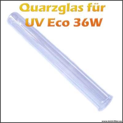 Ersatz Quarzglaskolben für Eco 36W UV-C Wasserklärer