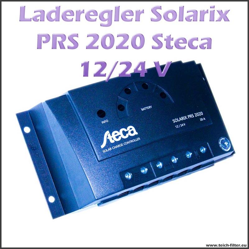 steca solar laderegler 12v 24v 20a solarix prs 2020 f r wohnwagen. Black Bedroom Furniture Sets. Home Design Ideas
