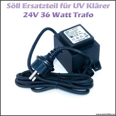 15258 Ersatz Trafo 36W 24V für Söll UV Klärer