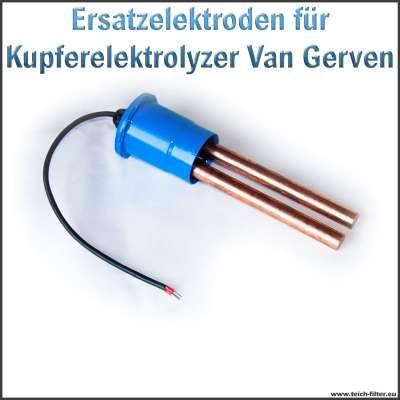 Kupfer Ersatzelektroden für Van Gerven Blue Lagoon Kupferelektrolyzer