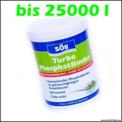 600 g Söll Turbo Phosphatbinder für bis zu 25000 l Wasser