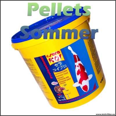 7 kg Fischfutter Pellets für Koi im Sommer von Sera Pond