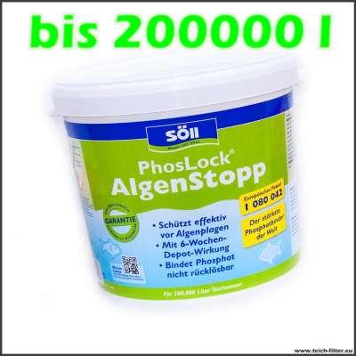 10 kg Söll Phoslock gegen Phosphat bis 200000l Teichwasser