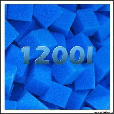 Feine Filterwürfel mit 1200 Liter Volumen günstig im Shop kaufen