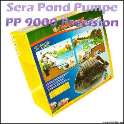 Sera Teichpumpe PP 9000 Precision für IBC Teichfilter bis 150000 Liter