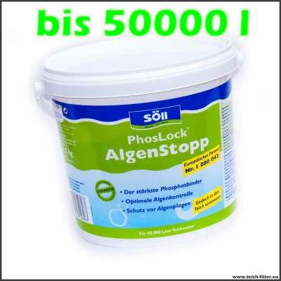 2,5 kg Söll Phosphatbinder bis 50000 l Teichwasser
