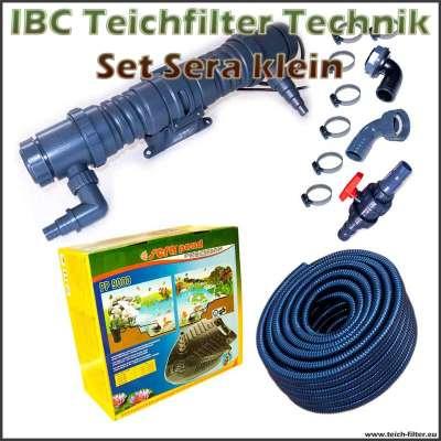 IBC Teichfilter Technik Set Sera klein bis 150000 Liter