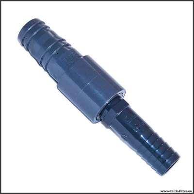 25 x 32 mm (1 x 1 1/4 Zoll) Schlauchverbinder für Spiralschlauch