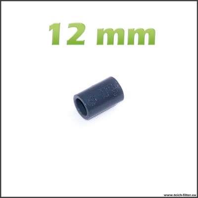 12 mm Muffe aus Kunststoff