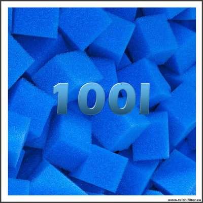 100 Liter feine Filterschwämme für Teiche und Wasserfilter