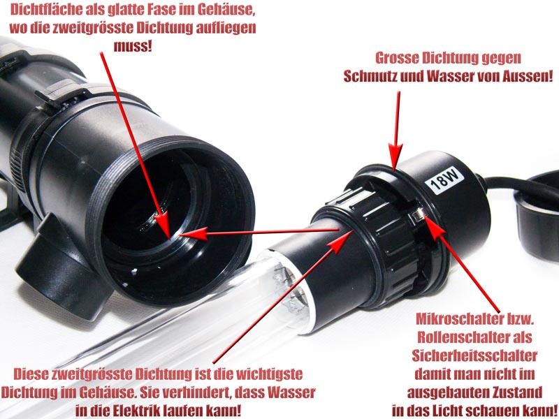 dichtung-soell-uvc-klaerer-um-quarzglas-fuer-gehaeuse-gegen-wasser