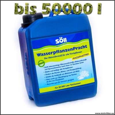 5 l Söll Dünger für Teichpflanzen bis 50000 Liter Wasser