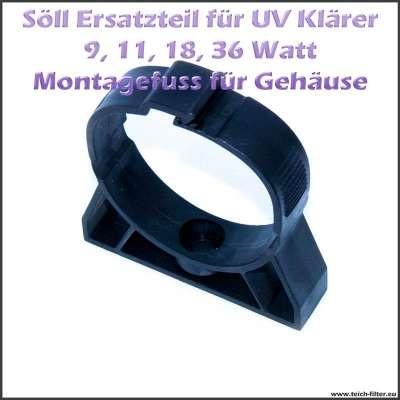 Montagefuss Ersatzteil 15899 für Söll UV Klärer