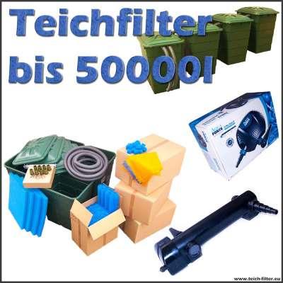 Teichfilter Eco 12 Volt bis 50000 Liter