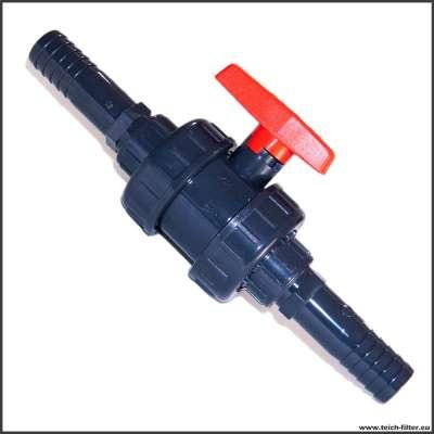 25 mm (1 Zoll) Kugelhahn mit Schlauchanschluss für Wasser