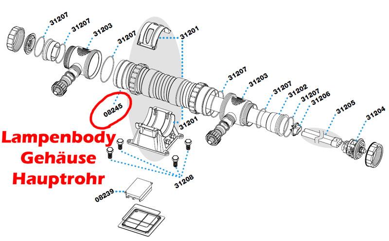 sera-55w-uv-c-system-gehaeuse-lampenbody-hauptrohr-08245