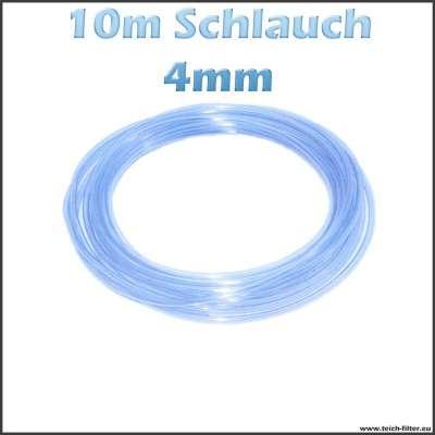 10m Luftschlauch mit 4mm Innendurchmesser für Teich und Aquaristik