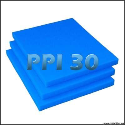 3 feine Filtermatten mit je 75 x 60 x 5 cm zum Bau von Teichfiltern aus Regentonnen
