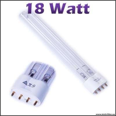 18 watt uv lampe pll. Black Bedroom Furniture Sets. Home Design Ideas
