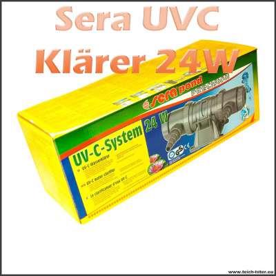UVC Klärer 24 Watt Sera