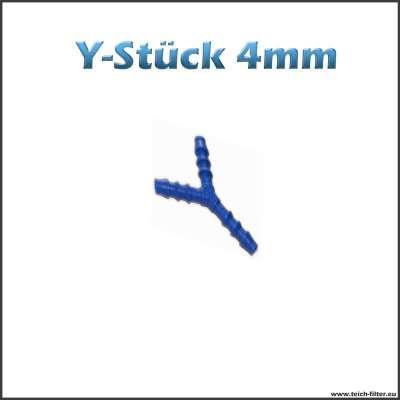 Y-Stück 4 mm aus Kunststoff
