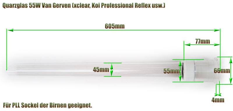quarzglas-van-gerven-55w-uvc-klaerer-ersatz-abmessung-605mm-laenge-aquaforte-koi-professional-reflex-xclear