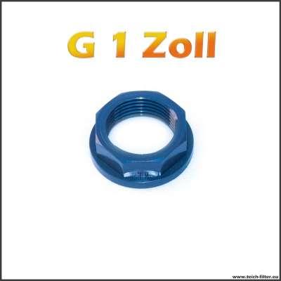 G 1 Zoll Mutter von VDL aus PVC für Teich