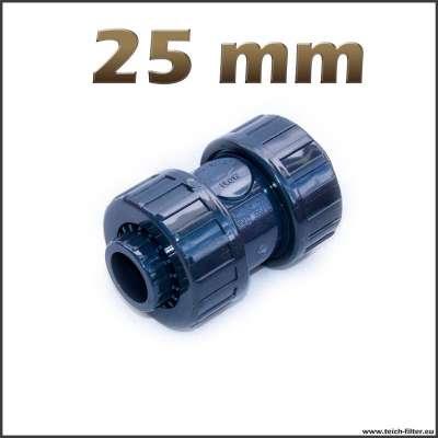 25 mm Rückschlagventil aus PVC für Wasser