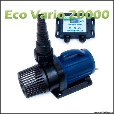 Regelbare Eco DM Vario 22000S Teichpumpe für Trockenaufstellung