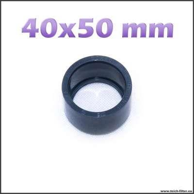40 x 50 mm Reduzierung für PVC Fittings