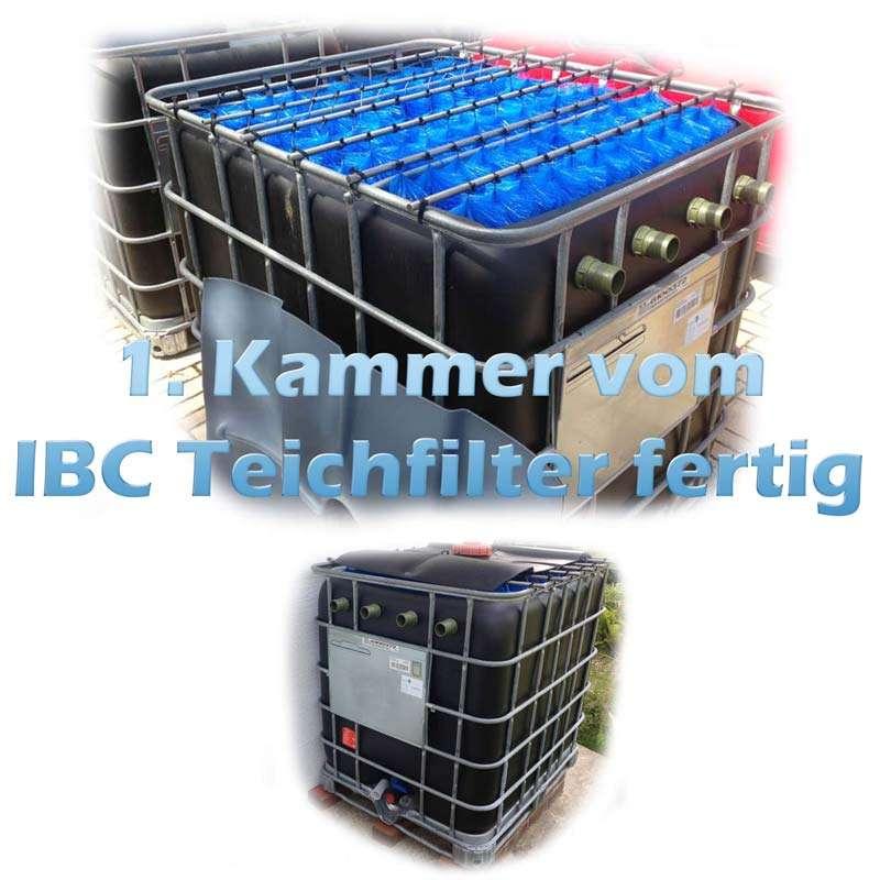 Teichfilter Aus IBC Container