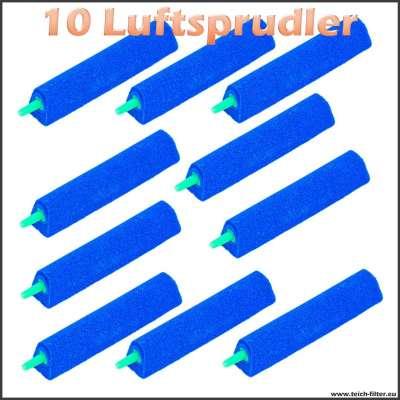10 Luftsprudler extra lang für Teichbelüfter