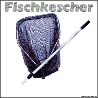 Fisch Kescher Sera mit Teleskopstiel