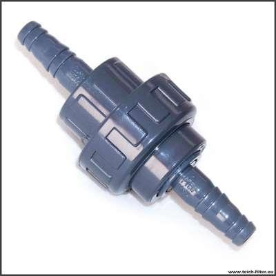 Schlauchverbinder mit Gewinde 12 mm (1/2 Zoll)