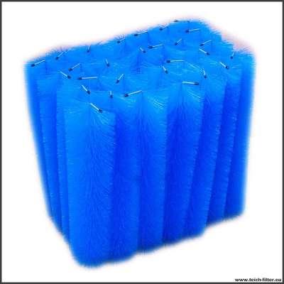 Filterbürsten im 28 Stück Set mit je 60 cm Länge für Teichfilter aus 300 l Regentonnen