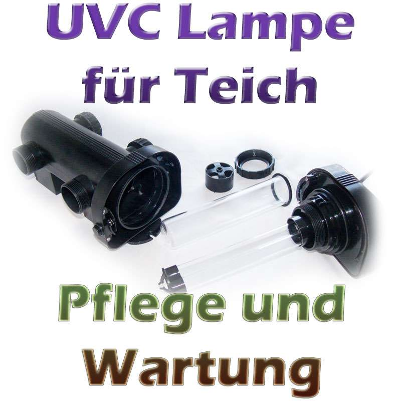 uvc lampe am teich pflege und wartung. Black Bedroom Furniture Sets. Home Design Ideas