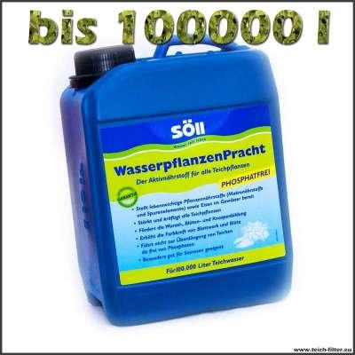 10 l Söll Dünger für Teich- und Wasserpflanzen bis 100000l
